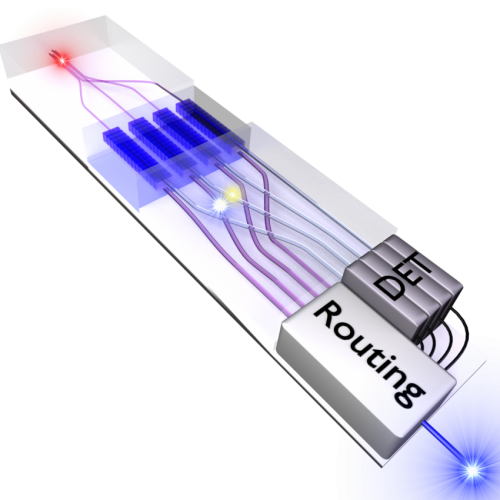 Ultrabright lasers help switch single photons