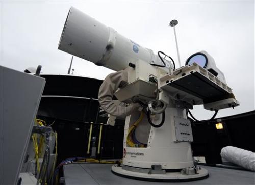 US Navy ready to deploy laser for 1st time