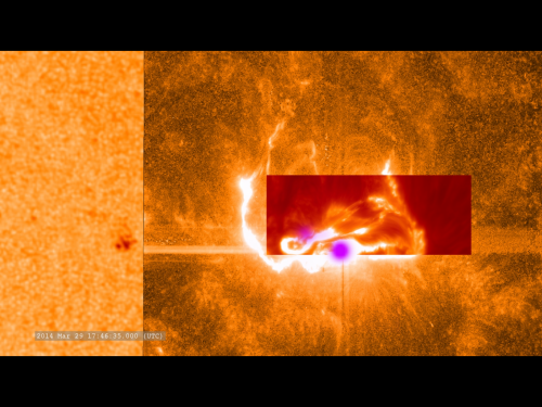 International team capture detailed footage of an X-class solar flare