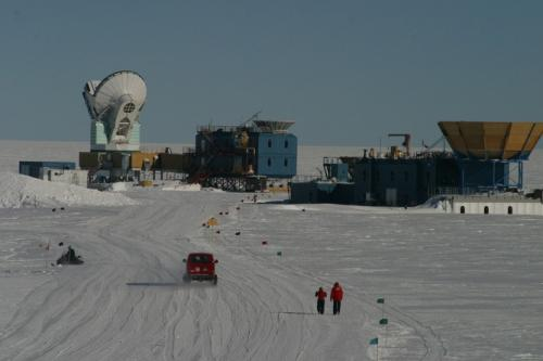 Scientists at work: building up BICEP2 at the South Pole to make discovery of the year