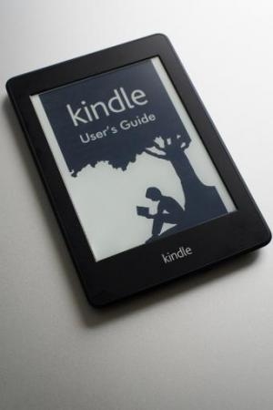 File photo of Amazon's Kindle e-reader