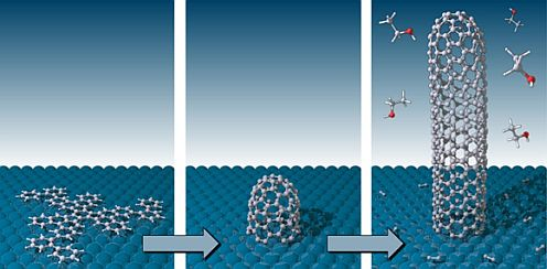 Researchers develop method for growing single species of single-walled carbon nanotubes