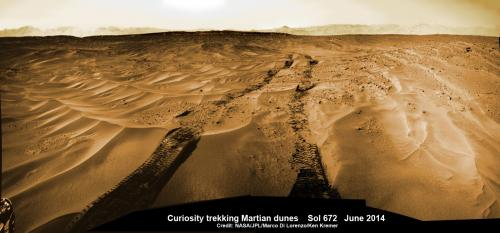 Curiosity roves outside landing ellipse