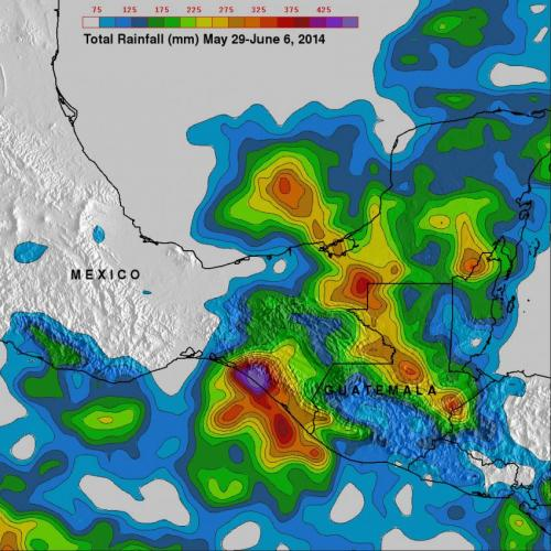 NASA's TRMM satellite analyzes Mexico's soaking tropical rains