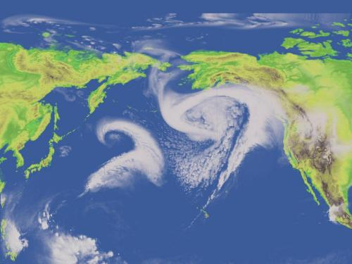 Researchers reconstruct Pacific storm track in climate model