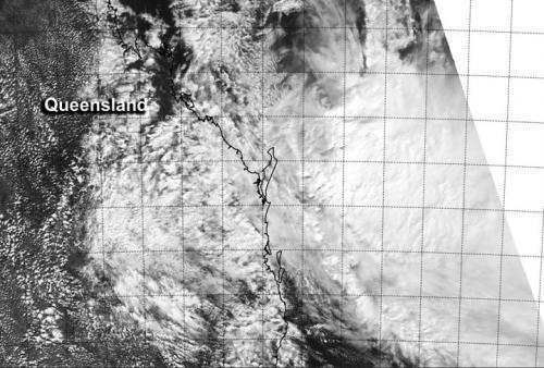NASA sees Tropical Cyclone Ita over the Coral Sea