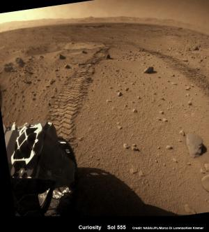 Curiosity rover captures spectacular Martian mountain snapshot