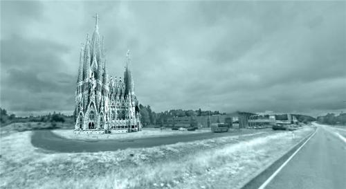Dutch student team builds 40 meter ice basilica in Finland in three weeks