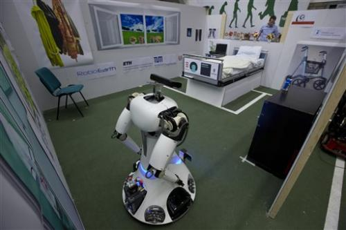 Europe launches RoboEarth: 'Wikipedia for Robots'