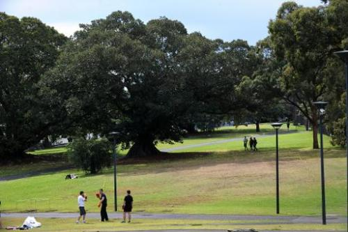 File photo of the Royal Botanical Gardens in Sydney, Australia