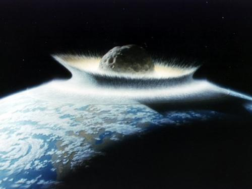 How cosmic crashes could have kickstarted plate tectonics