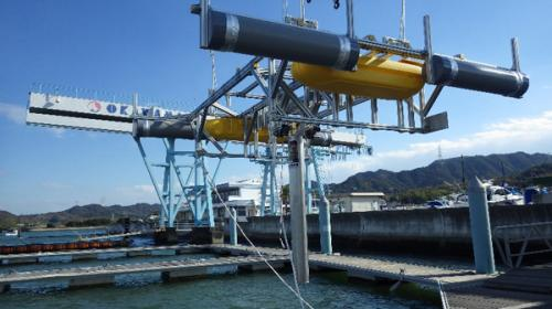 Innovative pendulum-dynamo for converting tidal energy into electrical power