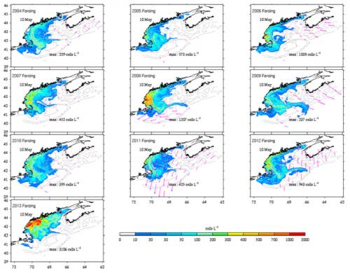 Monitoring impacts of changing Gulf of Maine conditions on New England red tide