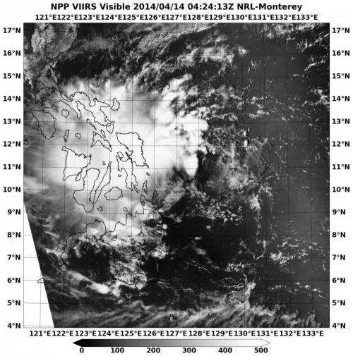 NASA sees remnants of Tropical Depression Peipah over Southern Philippines