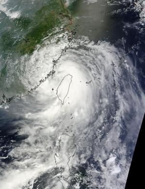NASA sees Typhoon Matmo making second landfall in China