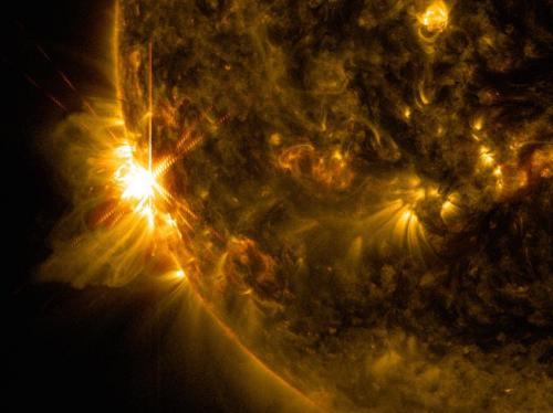NASA's SDO sees a summer solar flare