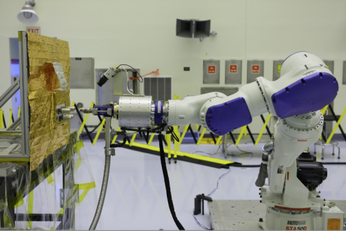 NASA tests new technologies for robotic refueling