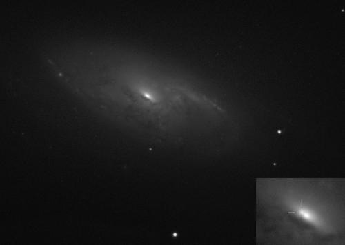 New supernova pops in bright galaxy M106 in the 'Hunting Dogs'