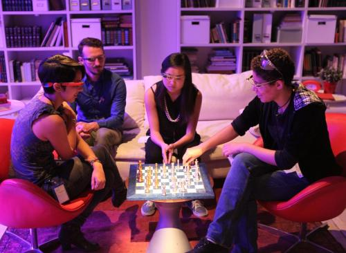 Students show how wearable technology could alter the idea of narrative