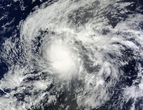 NASA satellite catches birth of Tropical Storm Wali near Hawaii