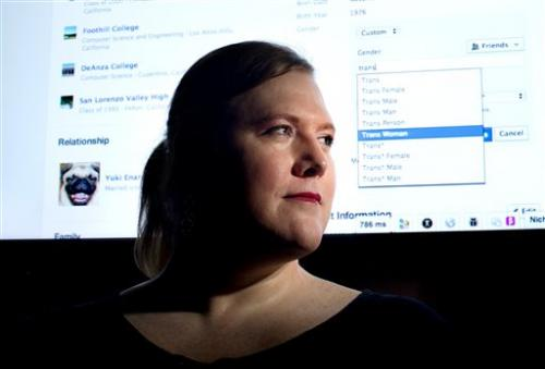 APNewsBreak: New gender options for Facebook users
