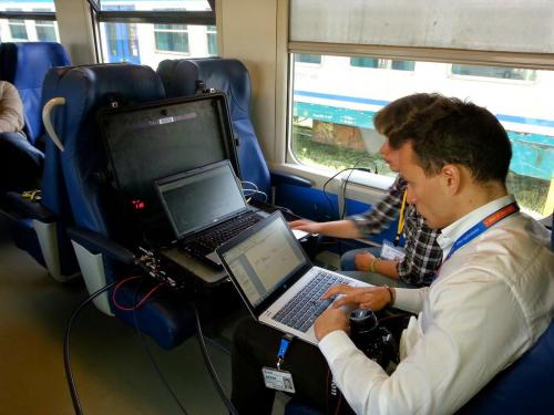 Satellites helping to modernise railways