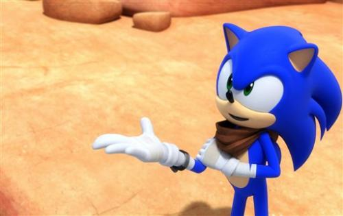 Sonic undergoes makeover for new game, TV series