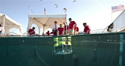 Winners named in global underwater robot event