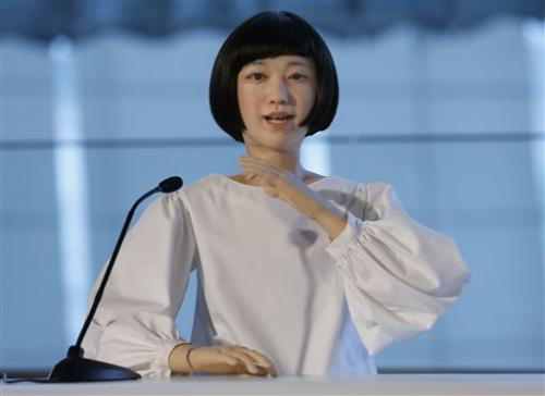 Woman or machine? New robots look creepily human