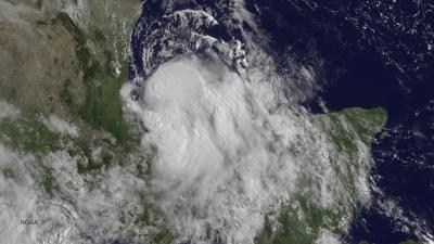 NASA satellites calling here you come again, Tropical Storm Dolly