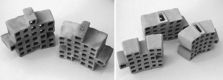 3-D printing helps designers build a better brick