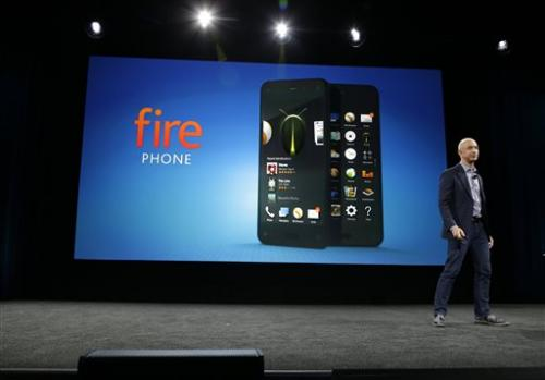 Amazon's Fire Phone to serve as eyes and ears