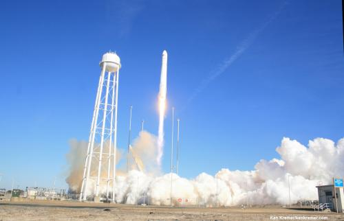 Antares rocket engine suffers significant failure during testing