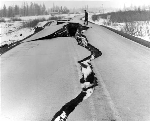 Great Alaska Earthquake shook Alaska 50 years ago