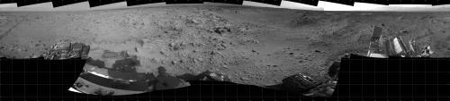 NASA Mars rover Curiosity nears mountain-base outcrop