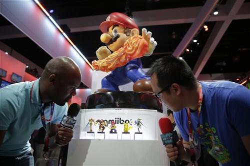 Nintendo reveals 'Skylanders'-like toy line at E3