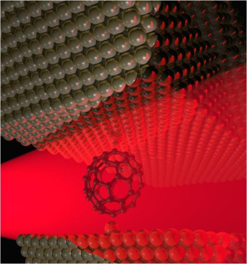 Researchers 'detune' a molecule: Experiment shows how to soften atomic bonds in a buckyball