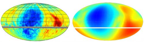 Scientists reveal cosmic roadmap to galactic magnetic field