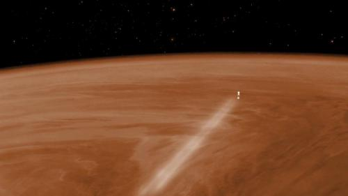 Venus Express gets ready to take the plunge