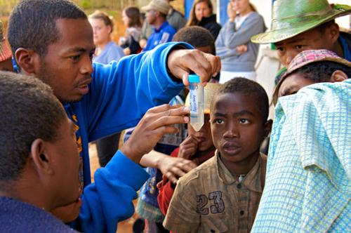 Madagascar study tracks how germs jump between people and animals