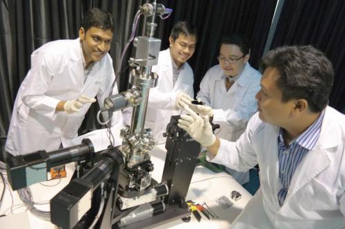 Novel technique developed by NUS scientists opens door to better solar cells