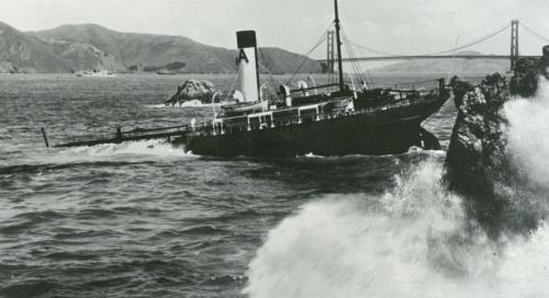 NOAA team reveals forgotten ghost ships off Golden Gate