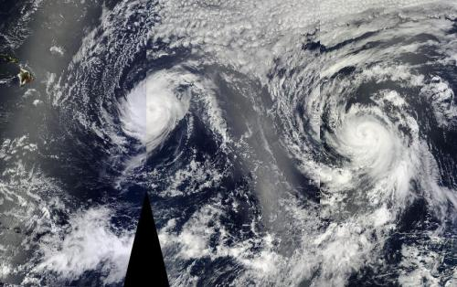 NASA sees Hurricane Julio organize and emit a gamma-ray flash