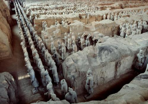 Scientists solve 2000-year-old mystery of the binding media in China's polychrome Terracotta Army