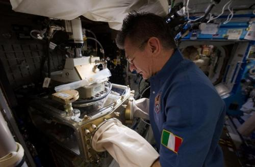 ACEs are high with space station colloidal research