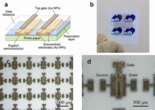 A cool approach to flexible electronics