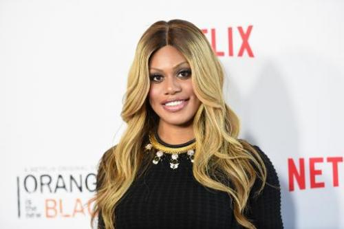 Actress Laverne Cox attends Netflix's 'Orange is the New Black' panel discussion, at Directors Guild Of America in Los Angeles,