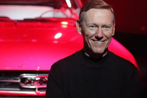 Alan Mulally, then president and chief executive officer of Ford Motor Company, poses for a photo ahead of the Beijing Internati