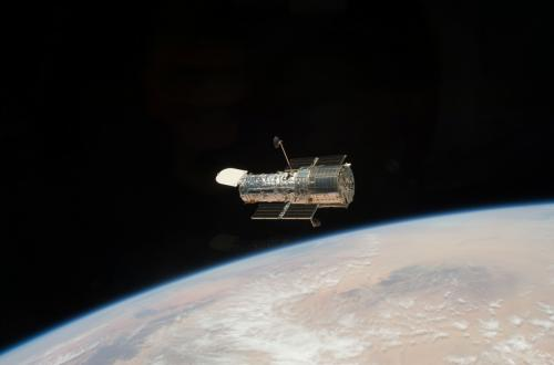 A look at the numbers as NASA's Hubble Space Telescope enters its 25th year