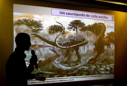 Argentine dino find: long-necks survived Jurassic